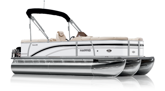 HARRIS pontoon Black