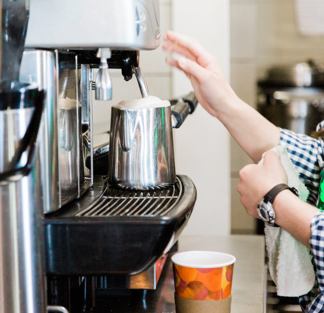 coffee shop at Carlton Landing