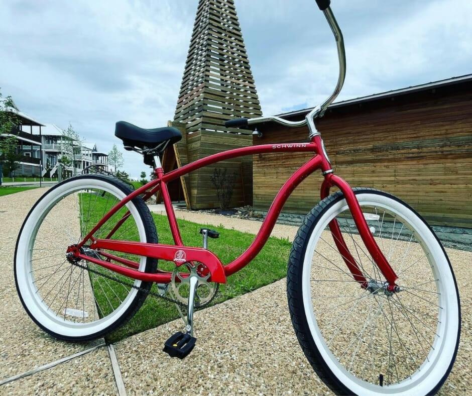 Bike rentals at Carlton Landing